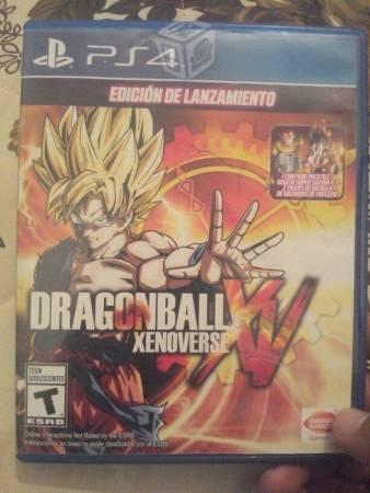 Dragon ball xenoverse xv ps4