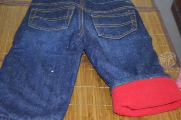 Jeans mezclilla osh kosh bebe niña 18 meses grueso