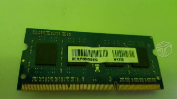 Memoria ddr3 4gb para laptop