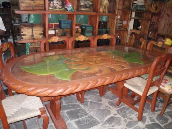 Muebles rusticos para sala comedor brick7 venta for Muebles de comedor rusticos