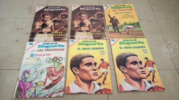 Comics estrellas del deporte