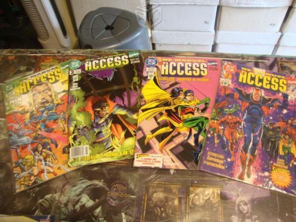 Marvel / Dc Comics / Acces Saga Completa 4 Tomos