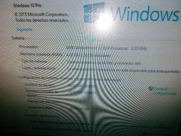 Hp 6005 dualcore-3.0 4 gb ram 320 disco wi-fi