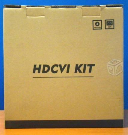 Kit de vigilacia DVR 4 camaras saxxon